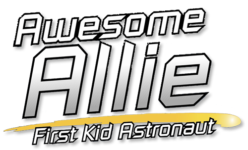 Awesome Allie: First Kid Astronaut Logo